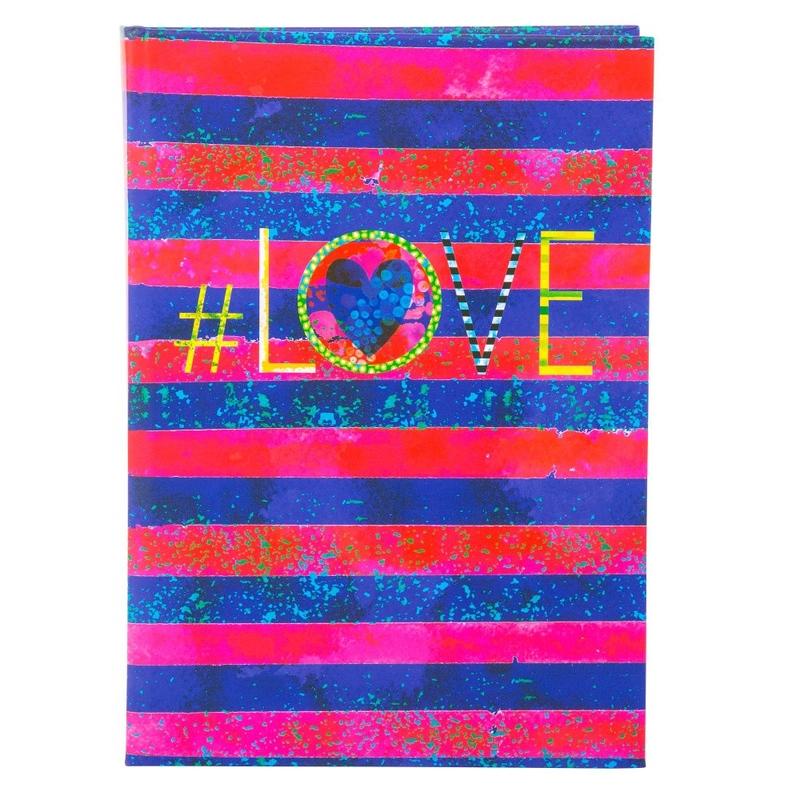 Agenda A5 embosata Love imagine