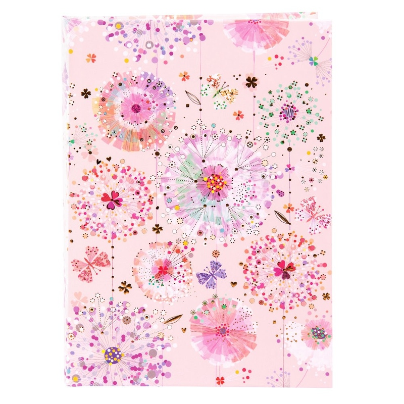 Agenda A5 embosata Primavera rose imagine