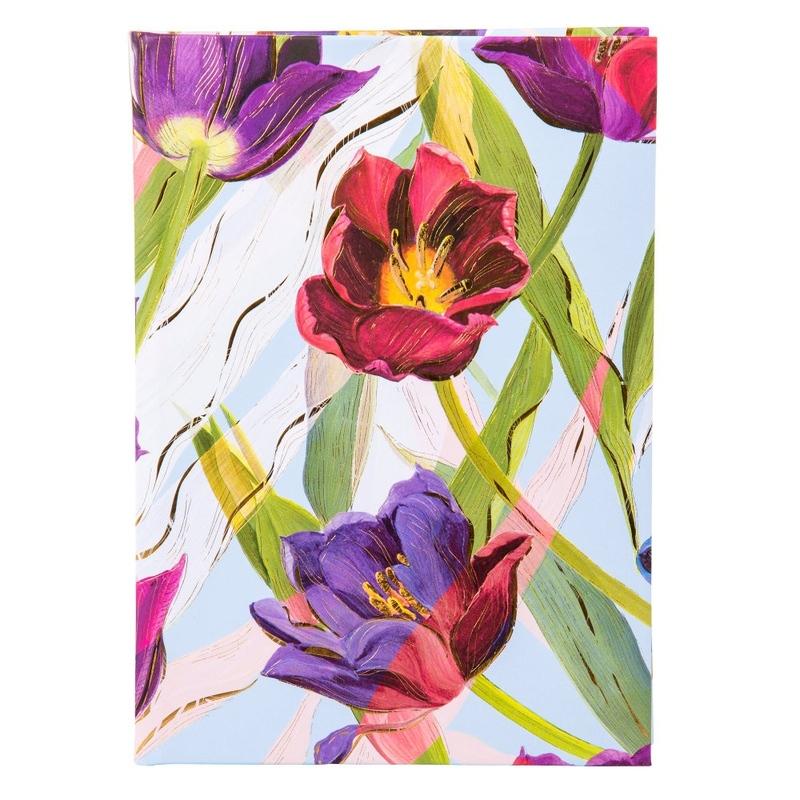 Agenda A5 embosata Tulips imagine