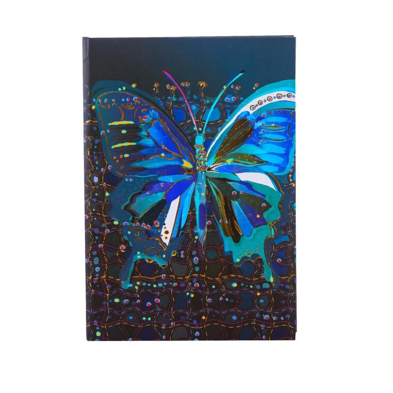 Agenda Goldbuch A5 cu efect special Fluturele floare imagine