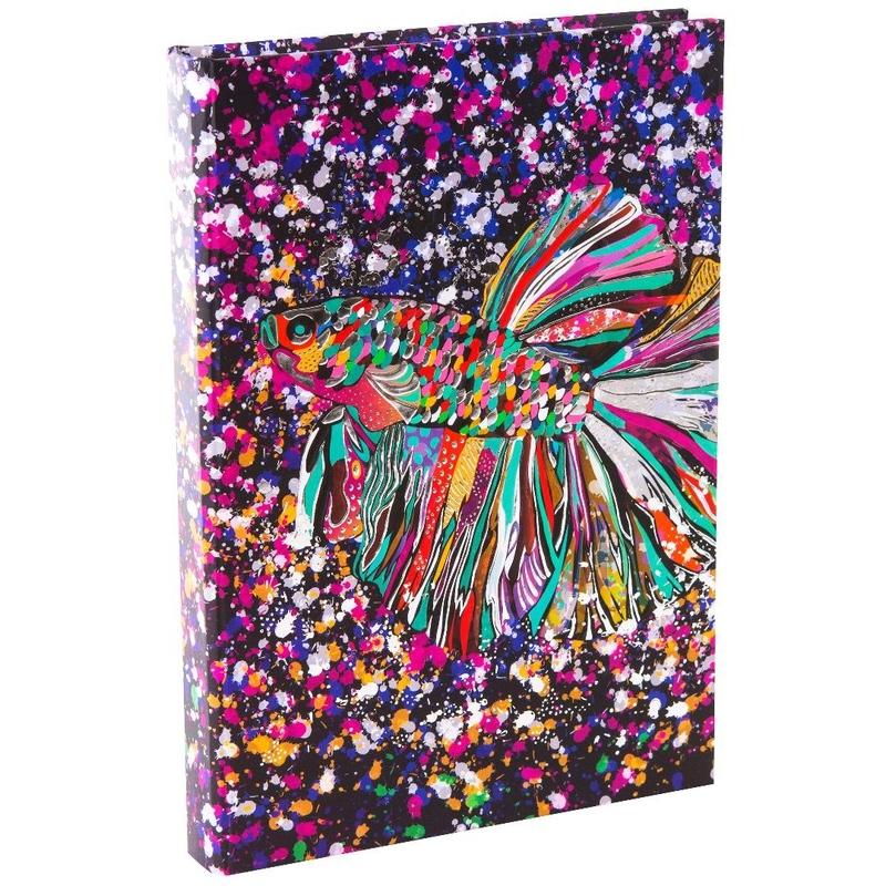 Agenda Goldbuch A5 cu efect special Pestele floare imagine