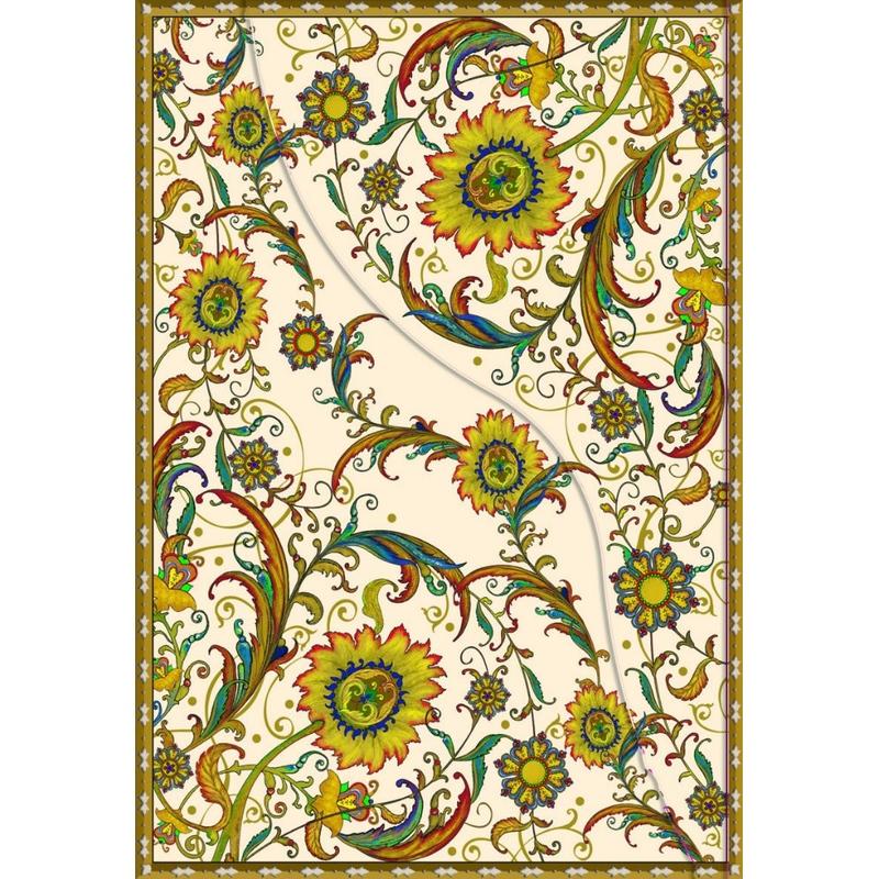 Agenda inchidere magnetica Persia Floarea soarelui imagine