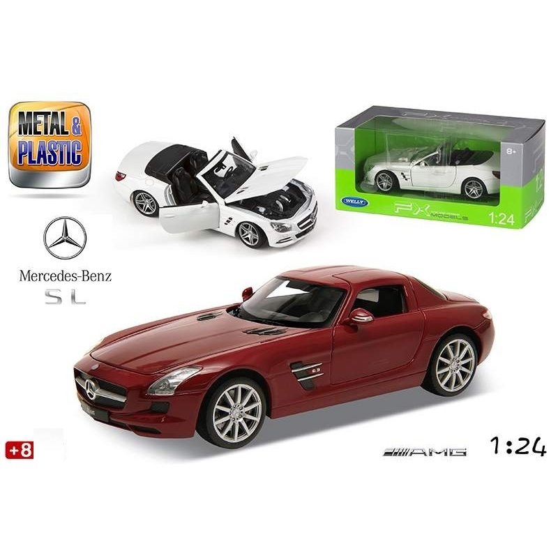 Masina sport diecast Mercedes SLS AMG