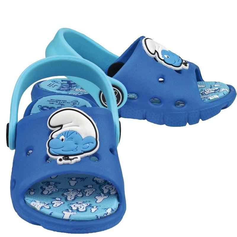 Sandale pentru copii Strumfi imagine