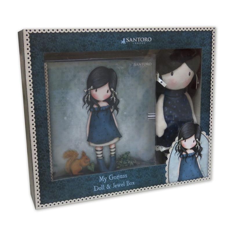 Set Gorjuss Papusa+cutie bijuterii - You Brought Me Love