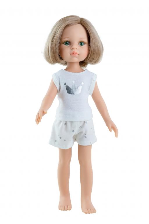 Papusa Carla in pijama alba, Paola Reina