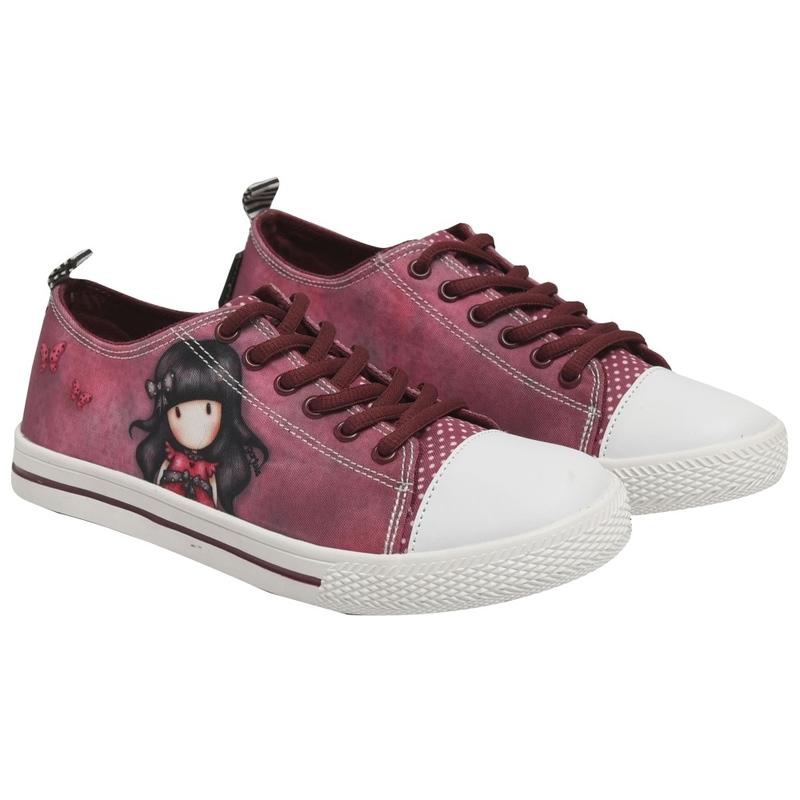 Pantofi sport canvas scurti Santoro Gorjuss-Ladybird imagine