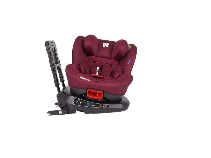 Scaun auto 0-25 kg Twister Red cu Isofix imagine