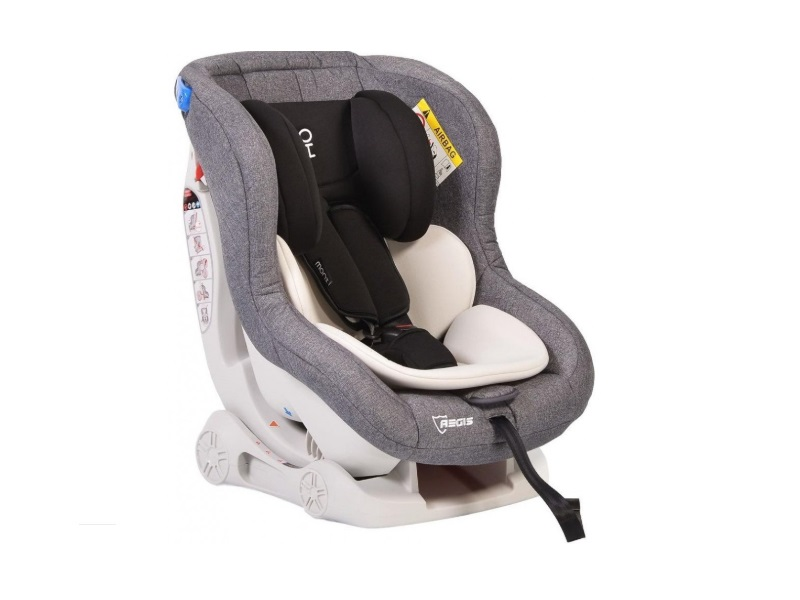 Scaun auto copii Moni Aegis 0-18 kg Beige/Grey imagine