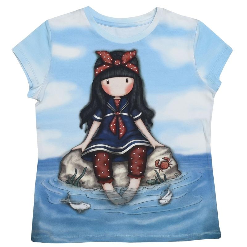 Tricou copii Santoro Gorjuss-Little Fishes imagine