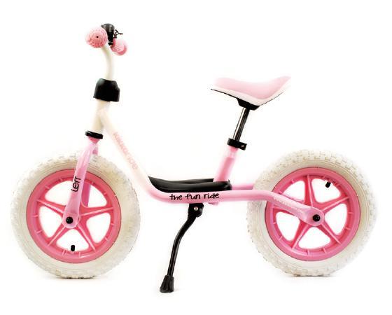Bicicleta fara pedale Lerr White/Pink