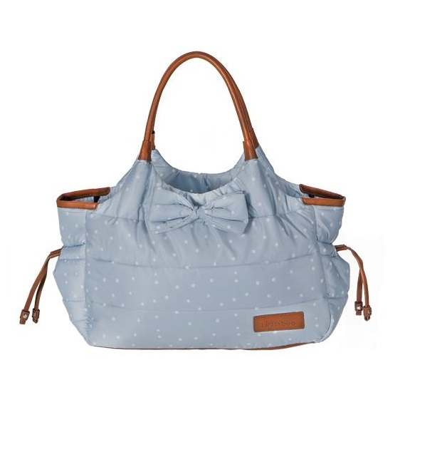 Geanta pentru mamici Mama Bag Dotty Blue imagine