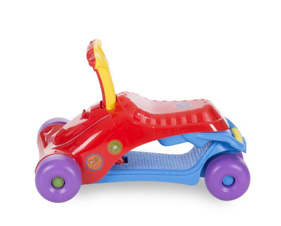 Masinuta pentru copii Ride on Baby Walker 3 in 1 Red/Blue