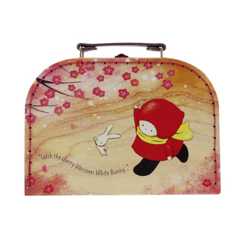 Cutie depozitare tip valiza mica Poppi Loves Sakura imagine