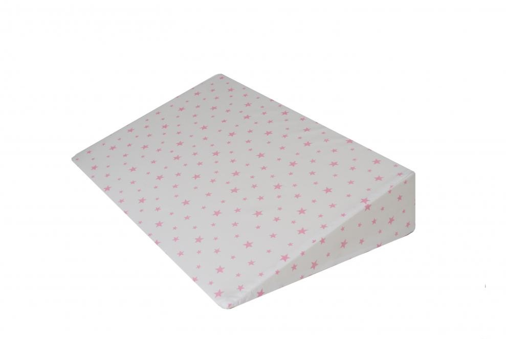 Perna plan inclinat multifunctionala Pink Stars White imagine