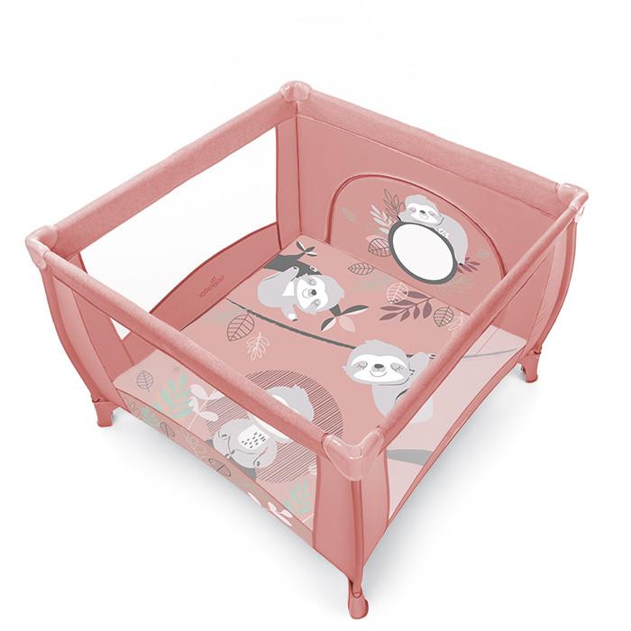 Baby Design Play tarc de joaca pliabil - 08 Pink 2020 imagine