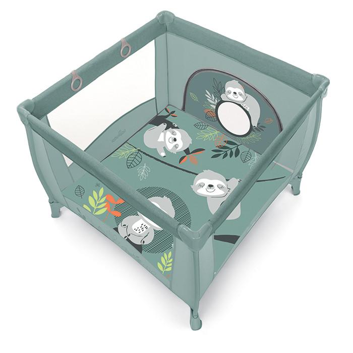 Baby Design Play UP Tarc de joaca pliabil - 04 Light Green 2020 imagine