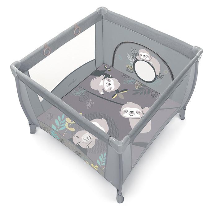 Baby Design Play UP Tarc de joaca pliabil - 07 Light Gray 2020 imagine