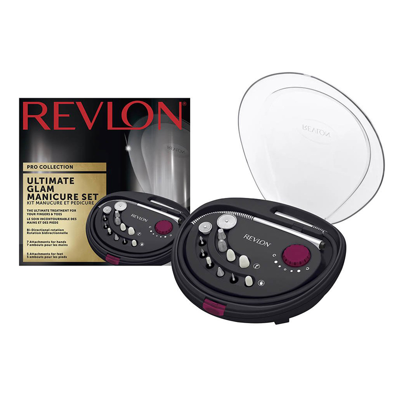 Set manichiura-pedichiura freza electrica REVLON Pro Collection Ultimate Glam RVSP3526E imagine