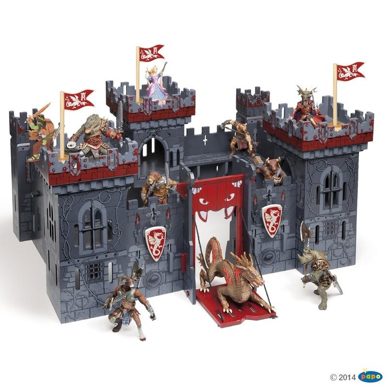 Castel Papo din lemn-Castelul mutantilor imagine