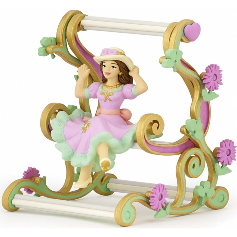 Figurina Papo Printesa in balansoar