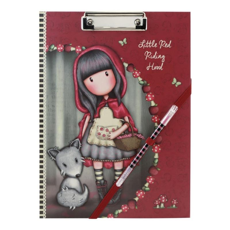 Gorjuss Clipboard cu planificator - Little Red Riding Hood imagine