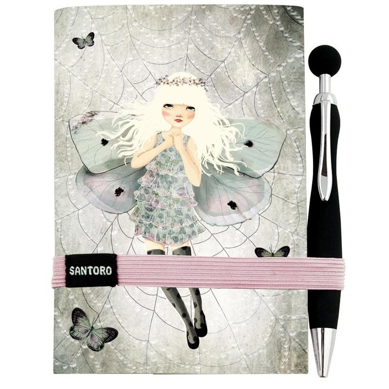 Jurnal Eclectic cu pix Miss Butterfly imagine