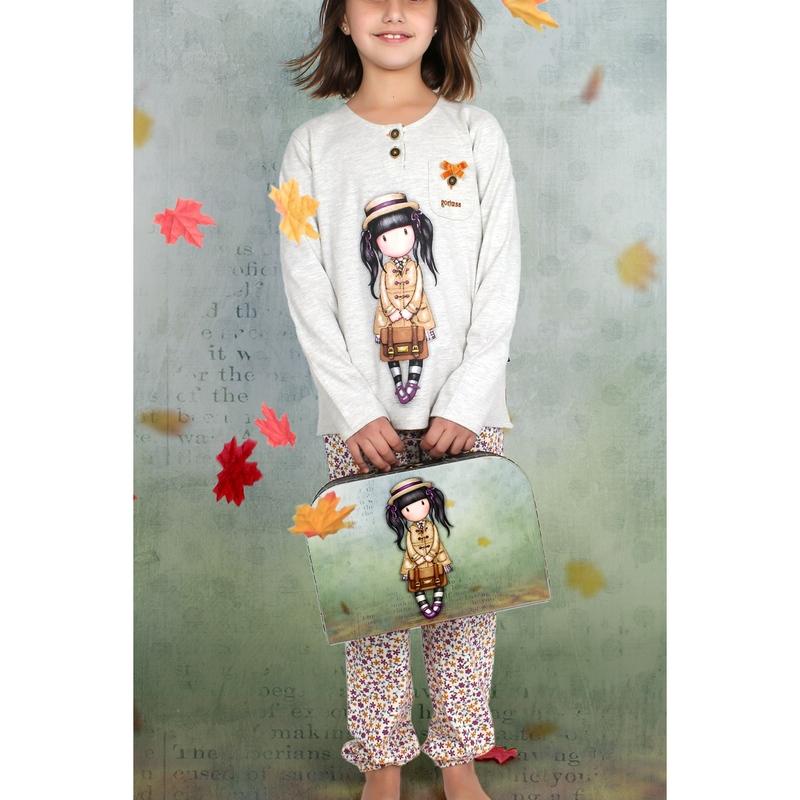 Pijama copii Gorjuss School Girl imagine