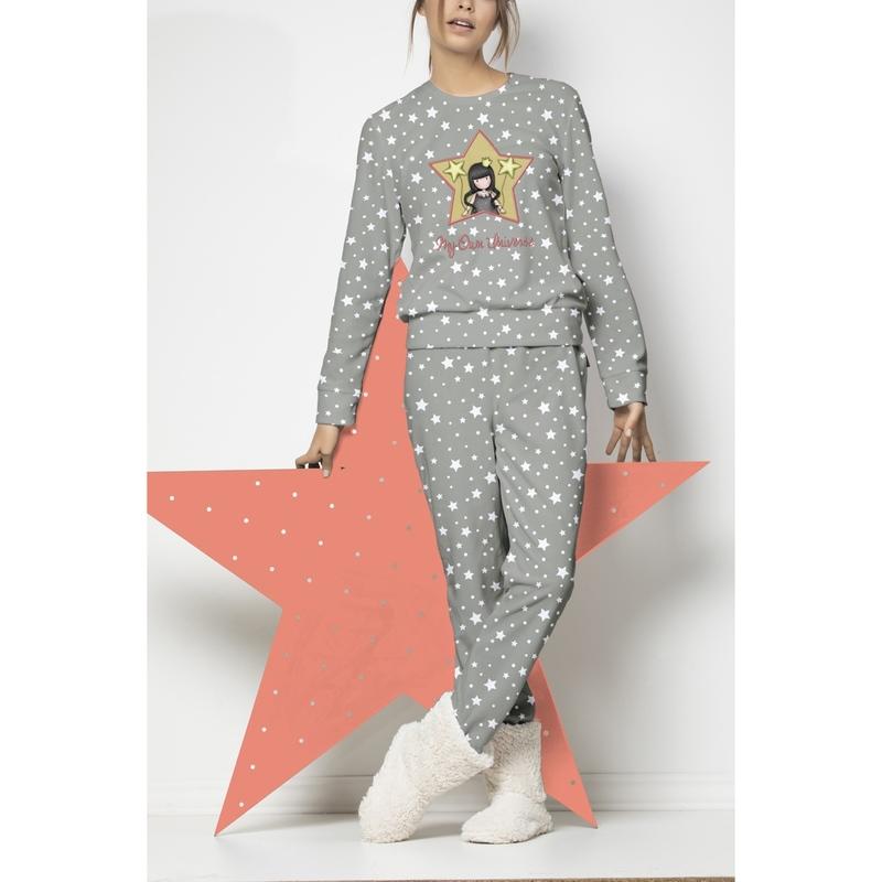 Pijama dama Gorjuss My Own Universe lunga imagine