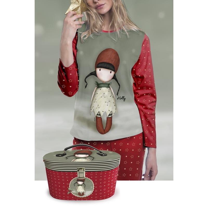 Pijama fete Santoro Gorjuss – Holly imagine