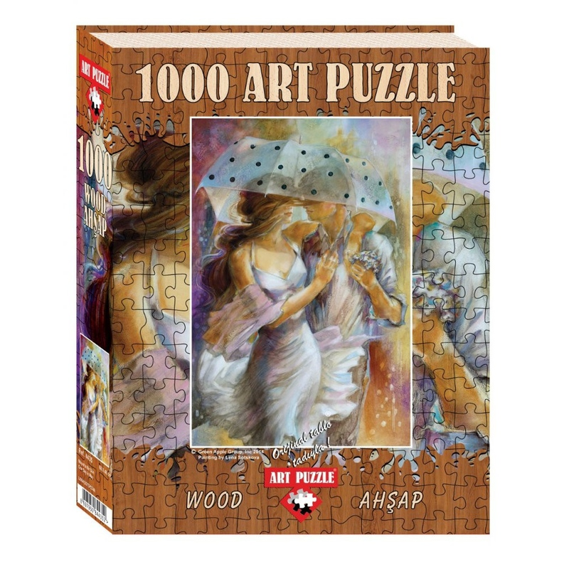 Puzzle 1000 piese - din lemn One Day In May-LENA SOTSKOVA imagine