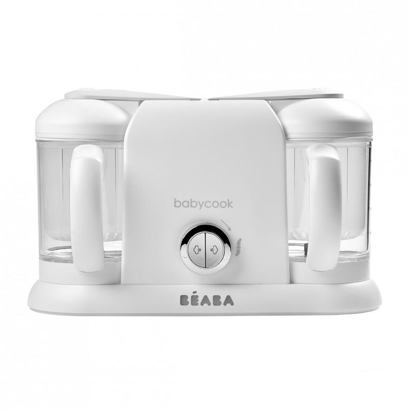 Robot Babycook Plus White Silver imagine