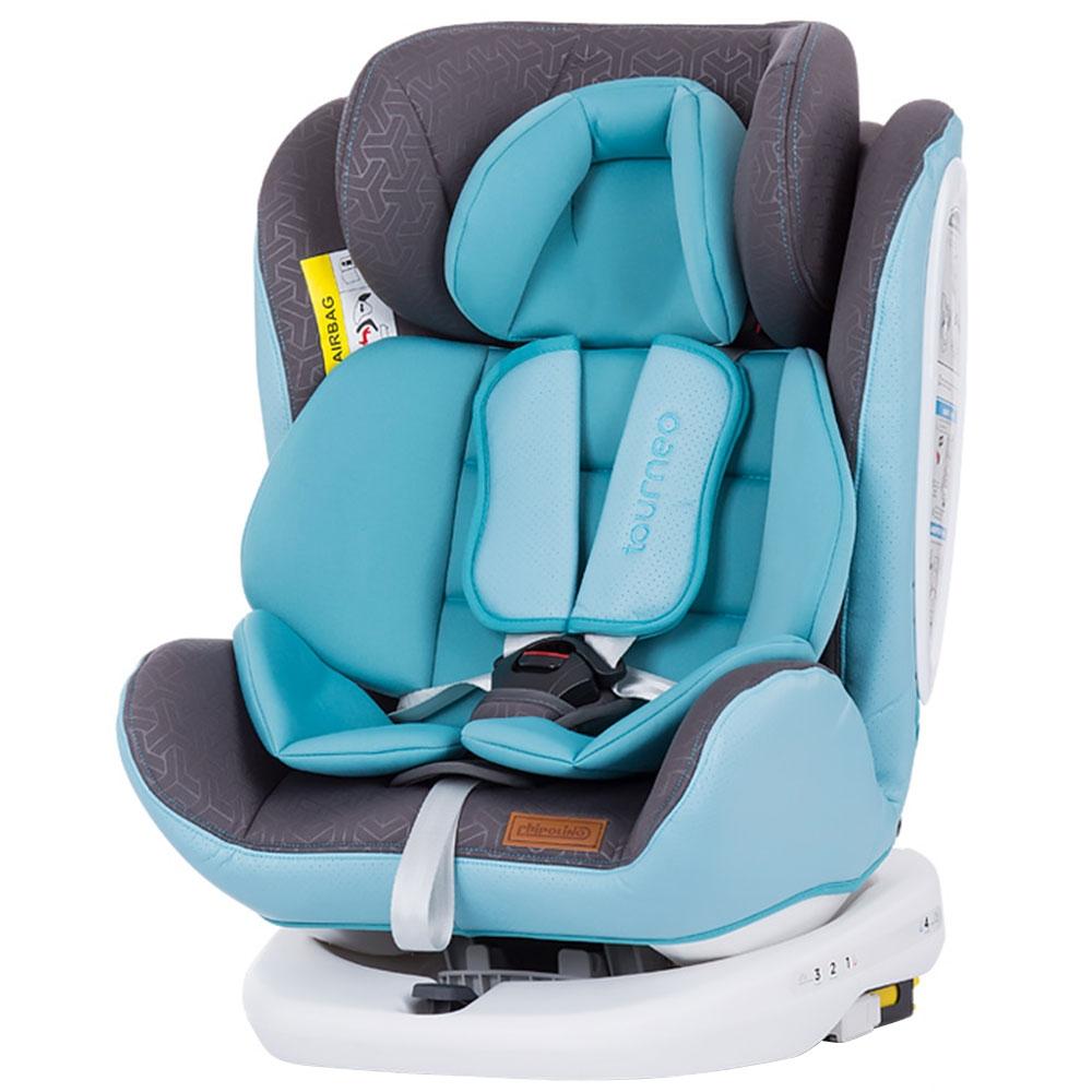 Scaun auto Chipolino Tourneo 0-36 kg baby blue cu sistem Isofix imagine