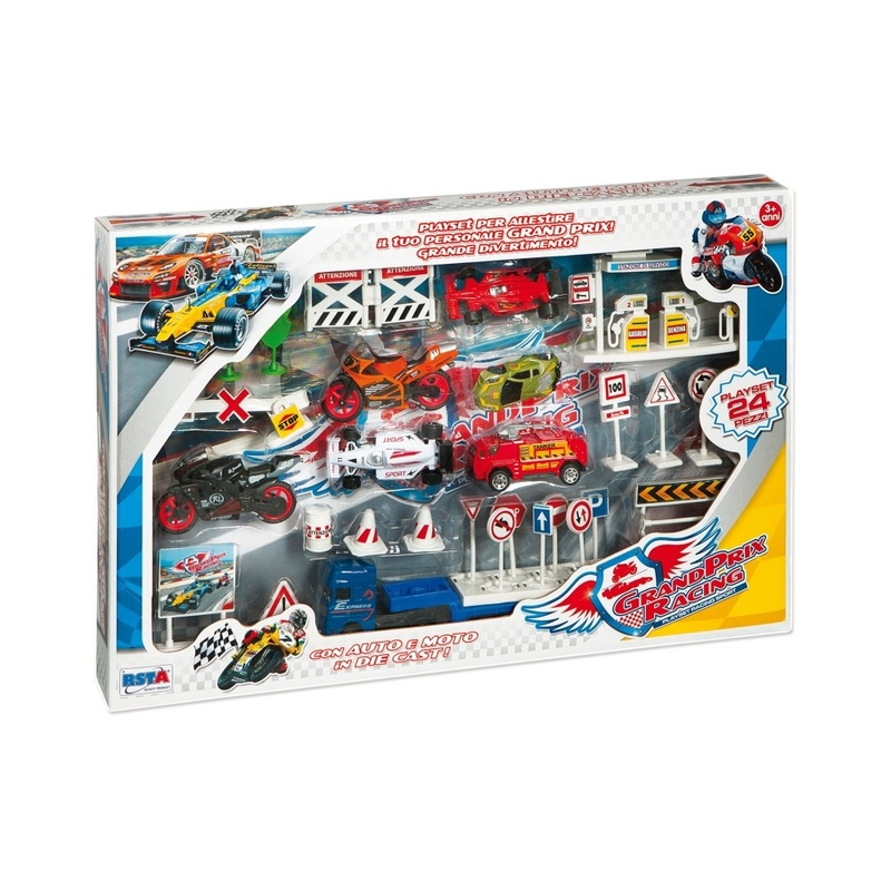 Set circuit si masinute diecast
