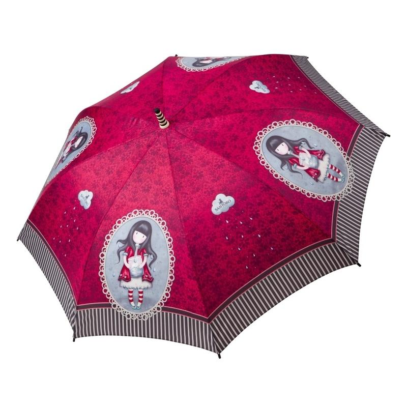 Umbrela baston automata Gorjuss - Tears imagine