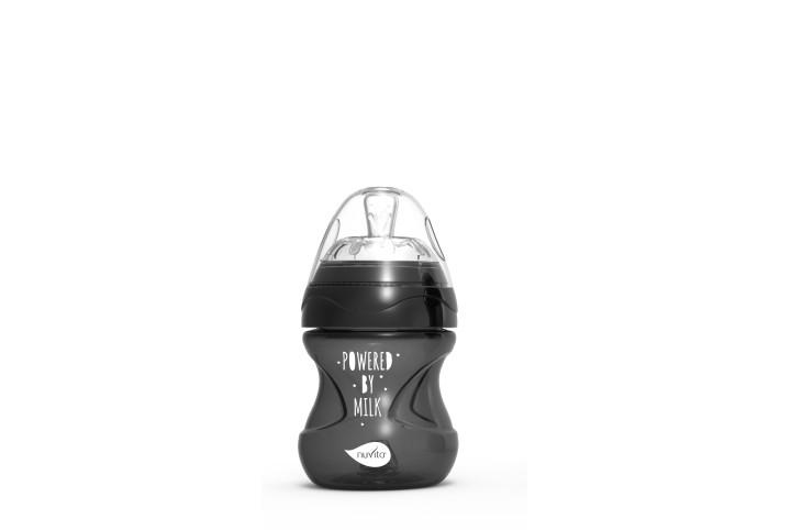 Nuvita Mimic® Cool! biberon 150ml - black - 6012 imagine