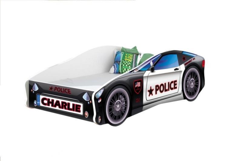 Pat Tineret MyKids Race Car Personalizat(NUME COPIL)-140x70 imagine