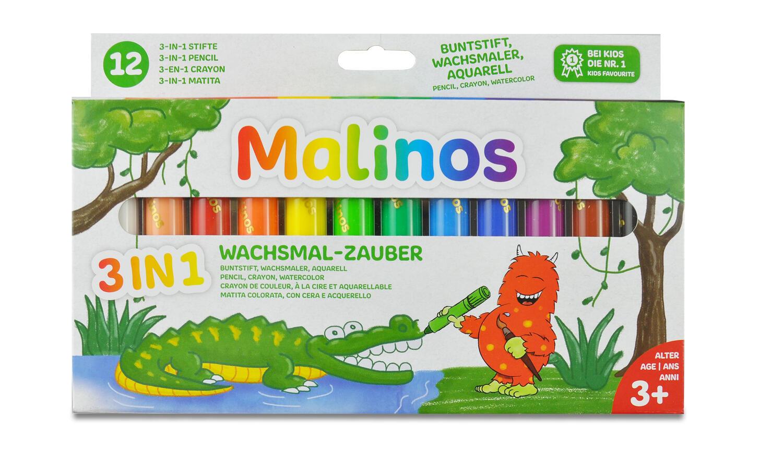 Set creioane retractabile - 12 culori imagine
