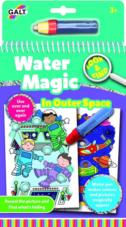 Water magic: Carte de colorat Spatiu