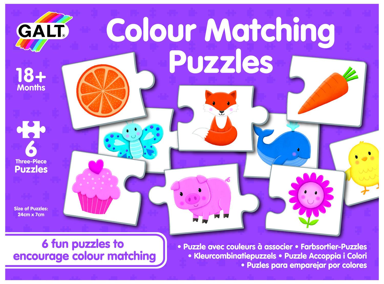 Set de 6 puzzle-uri - Lumea culorilor