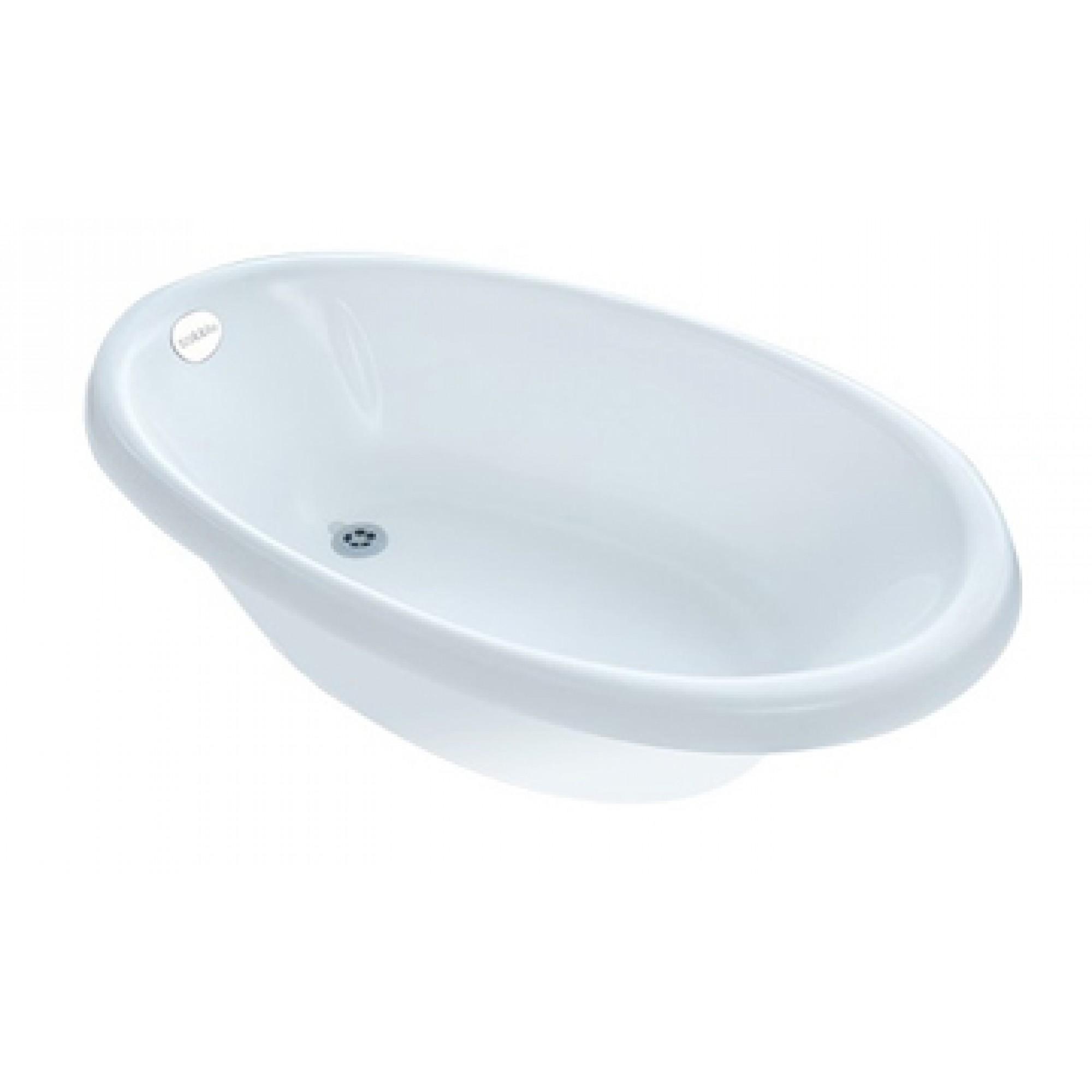 Cadita de baie venti, alb, sobble imagine