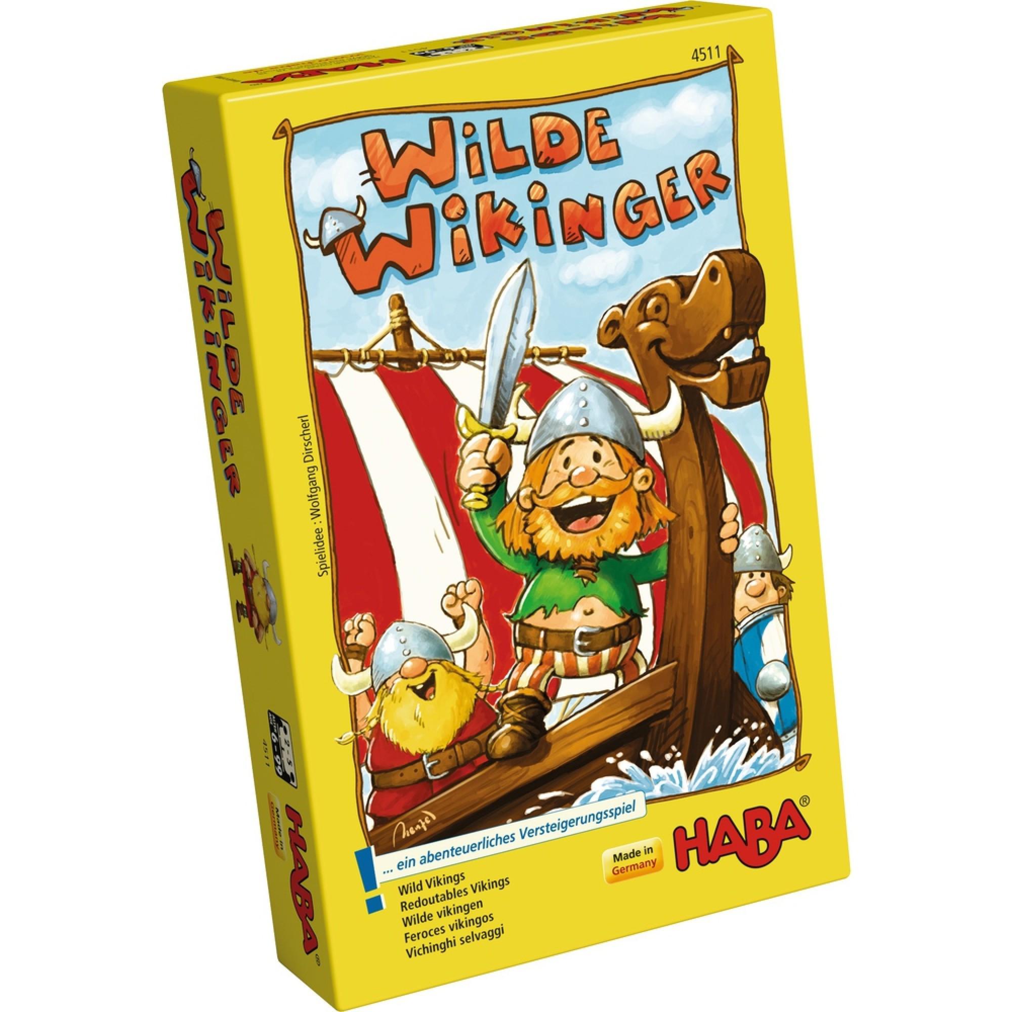 Joc cu zaruri, haba, wild vikings, 6ani+ imagine