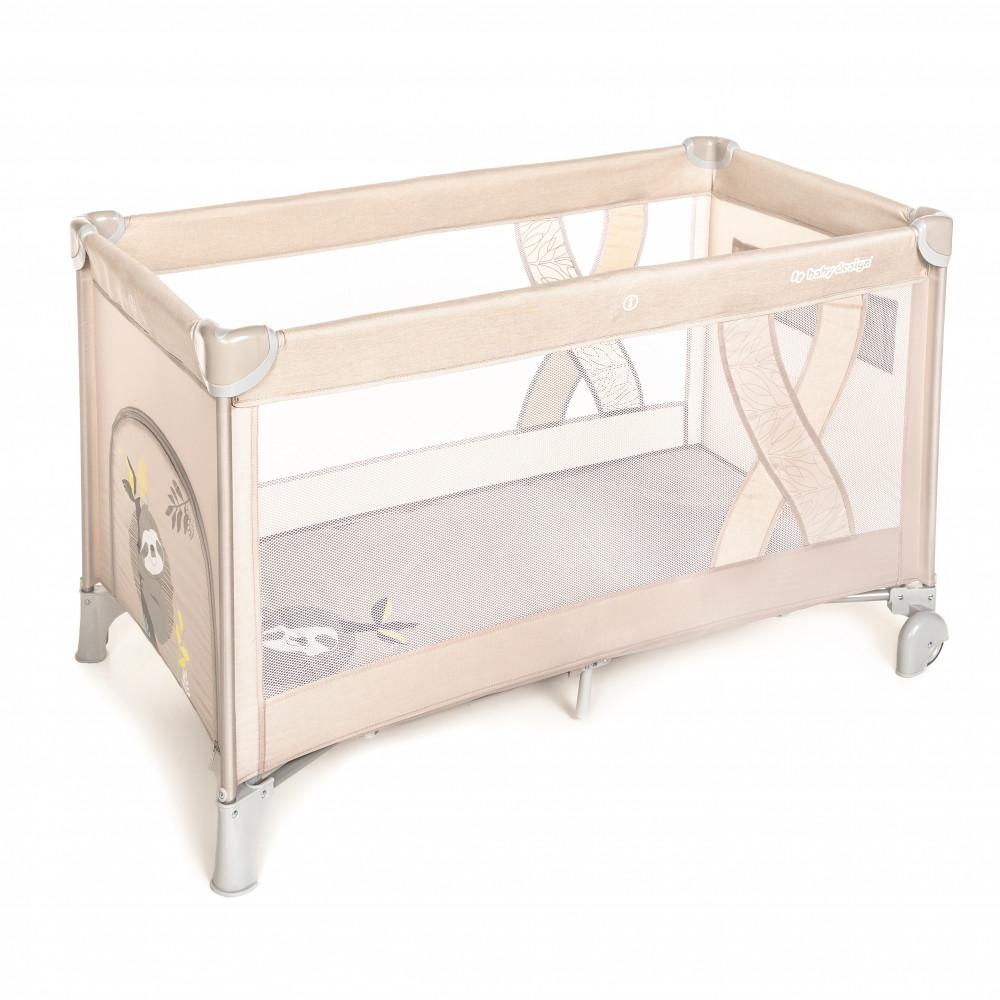 Baby Design Simple patut pliabil - 09 Beige 2020 imagine