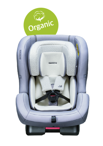 Scaun auto first7 plus organic grey, belt, daiichi imagine
