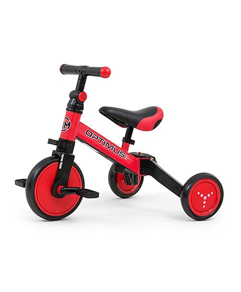 Tricicleta transformabila 3 in 1, Optimus Red imagine