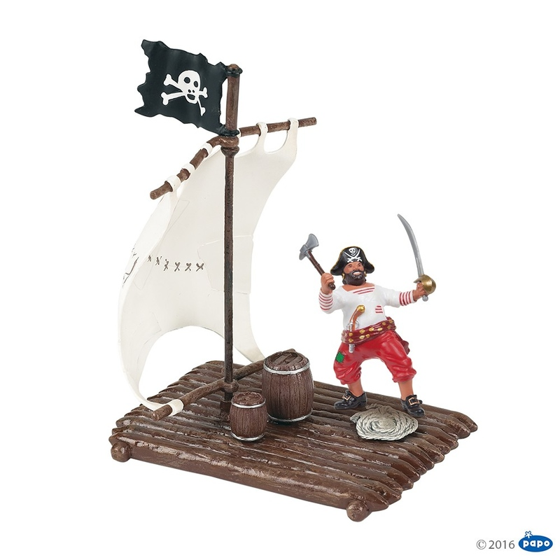 Figurina Papo - Pluta pentru pirati