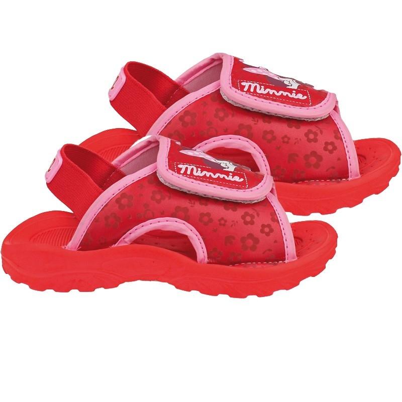 Sandale velcro pentru copii licenta Disney-Minnie Mouse