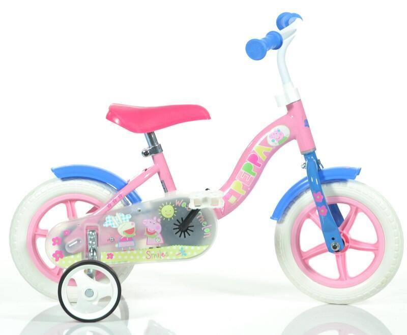 Bicicleta copii 10'' - Purcelusa Peppa imagine