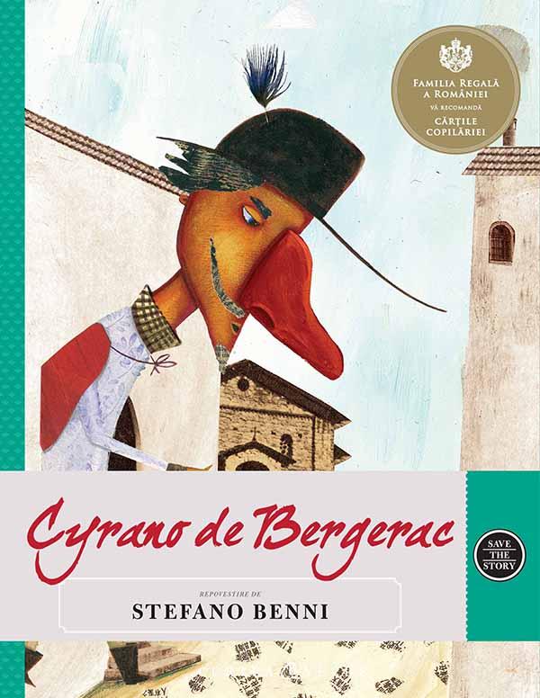 Cyrano de bergerac. repovestire de stefano benni. imagine