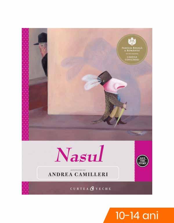 Nasul. repovestire de andrea camilleri imagine